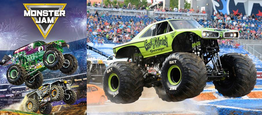 Monster Jam at Jacksonville Veterans Memorial Arena