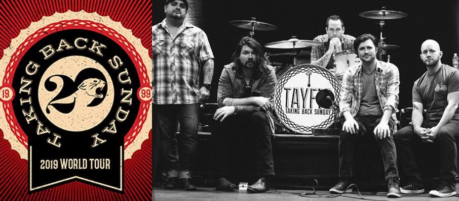 Taking Back Sunday at Mavericks Rock N' Honky Tonk