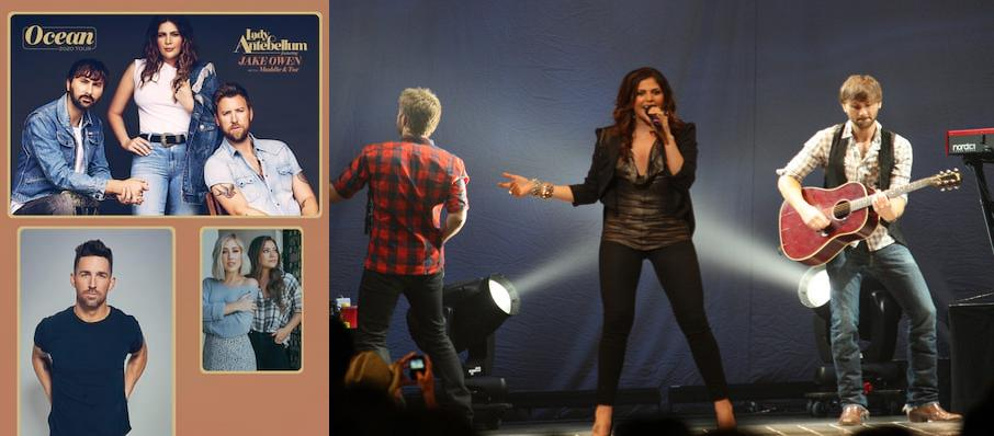 Lady Antebellum at Dailys Place Amphitheater