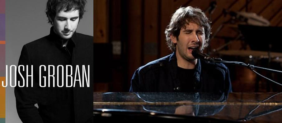 Josh Groban at Moran Theater