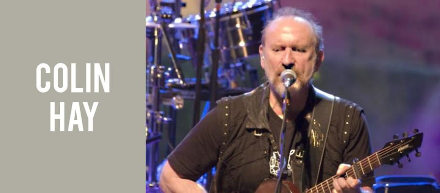 Colin Hay at Ponte Vedra Concert Hall