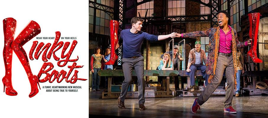 Kinky Boots at Moran Theater