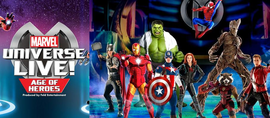 Marvel Universe Live! at Jacksonville Veterans Memorial Arena
