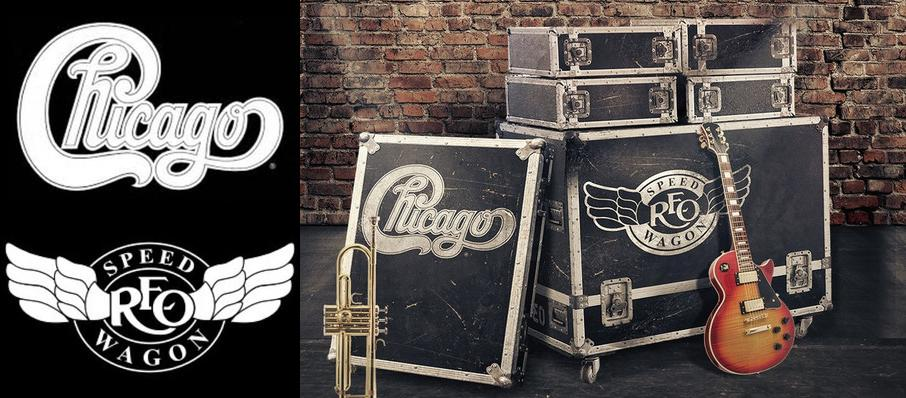 Chicago & REO Speedwagon at Dailys Place Amphitheater