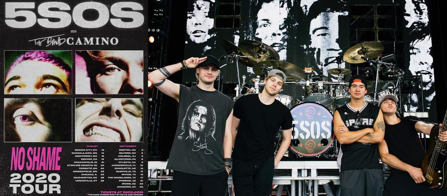 5 Seconds of Summer at Dailys Place Amphitheater