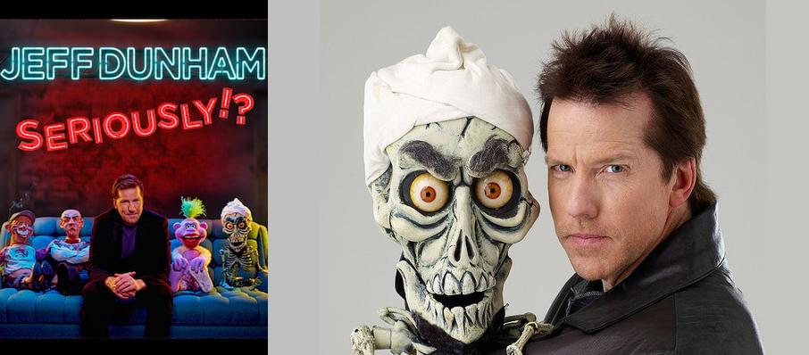 Jeff Dunham at Jacksonville Veterans Memorial Arena