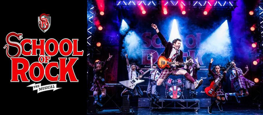School of Rock at Moran Theater