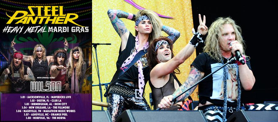 Steel Panther at Mavericks Rock N' Honky Tonk