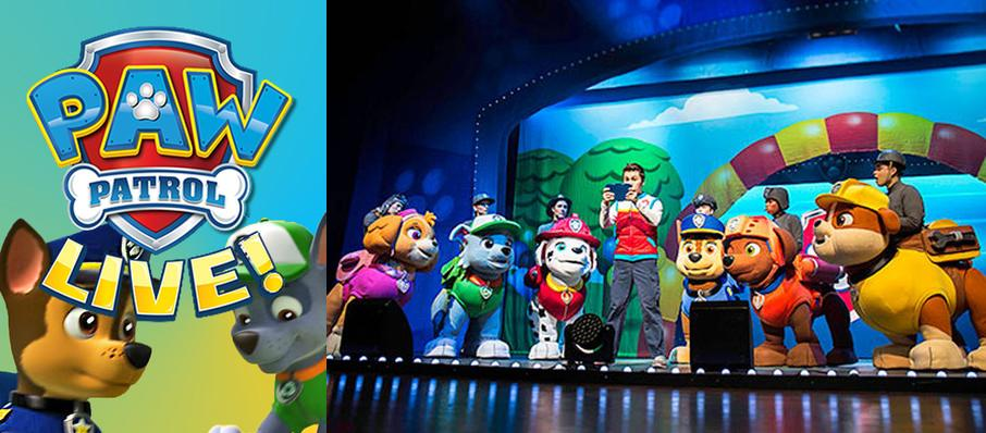 Paw Patrol at Moran Theater