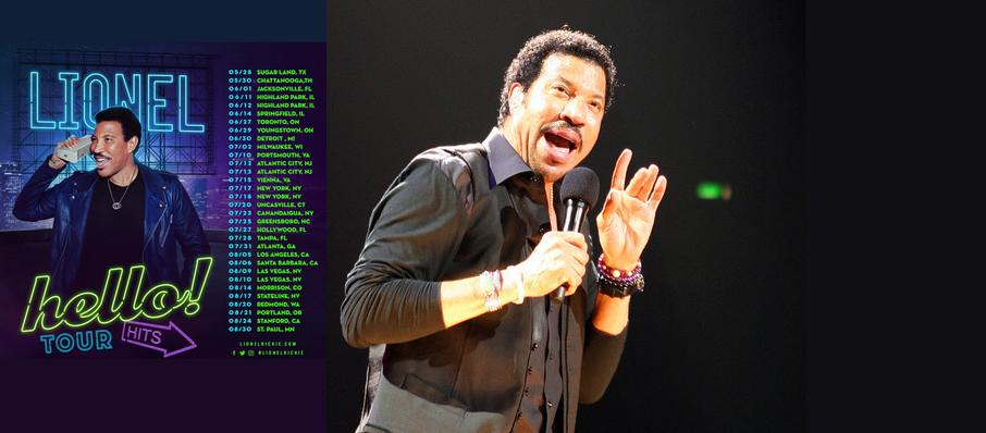 Lionel Richie at Dailys Place Amphitheater