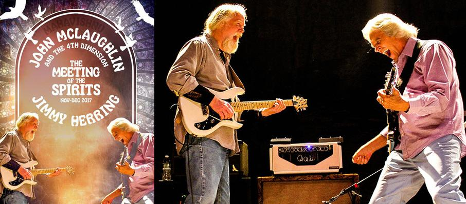 John McLaughlin with Jimmy Herring at Florida Theatre