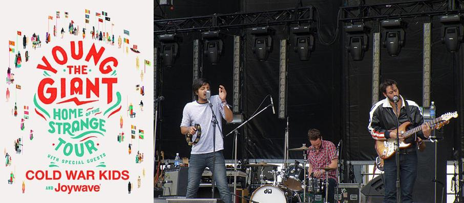Young the Giant with Cold War Kids at Dailys Place Amphitheater