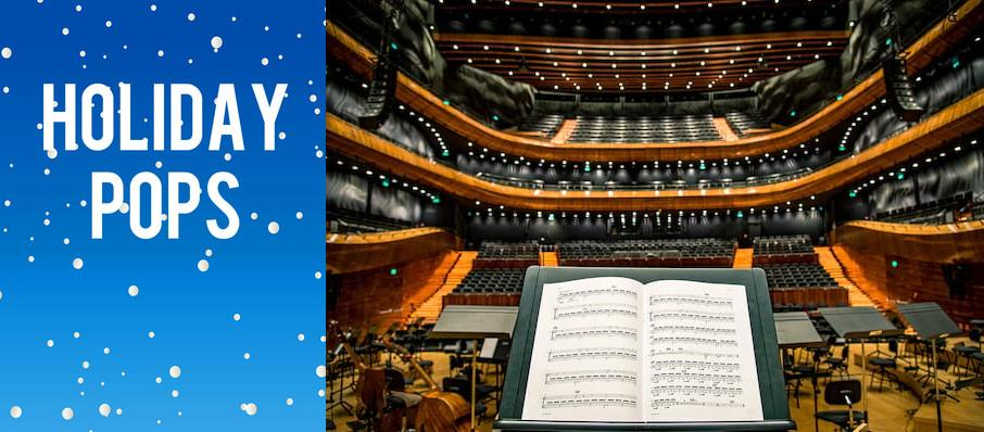 Holiday Pops at Jacoby Symphony Hall
