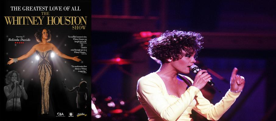 The Greatest Love of All - Whitney Houston Tribute at Moran Theater