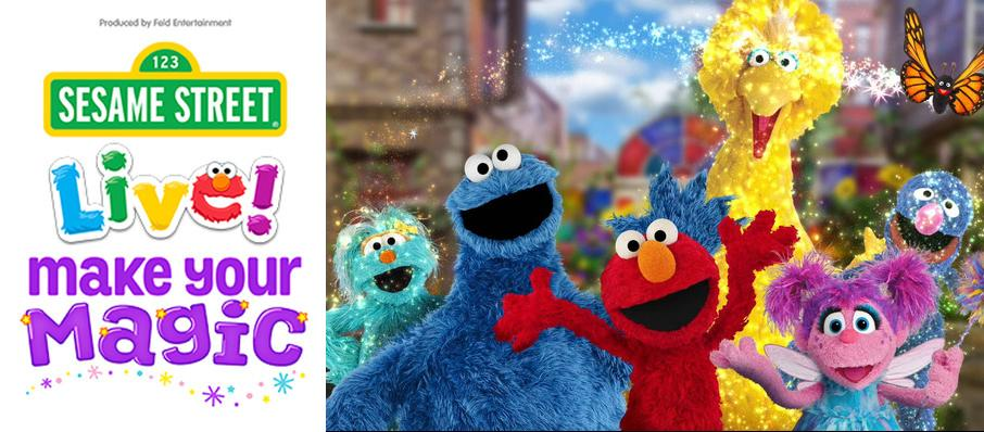 Sesame Street Live - Make Your Magic at Moran Theater