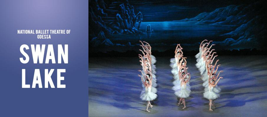National Ballet Theatre of Odessa - Swan Lake at Moran Theater
