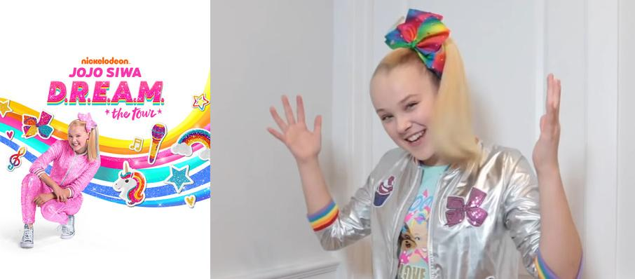 Jojo Siwa at VyStar Veterans Memorial Arena