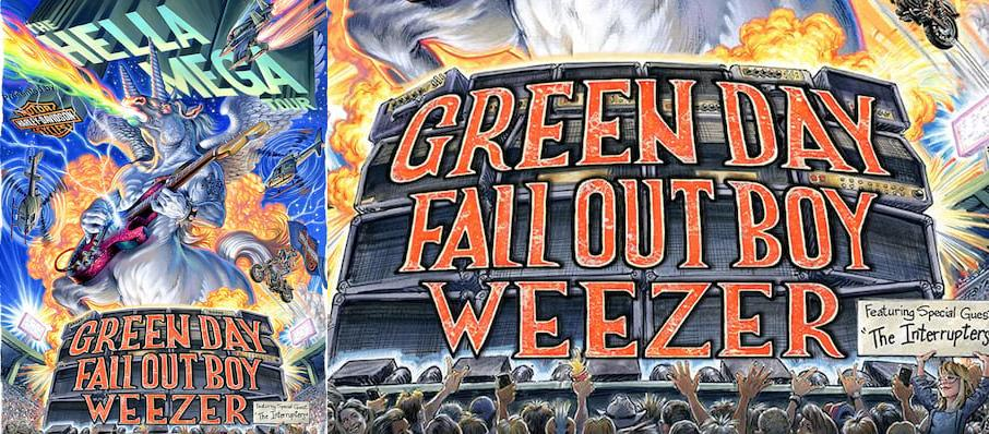 Green Day with Fall Out Boy and Weezer at TIAA Bank Field