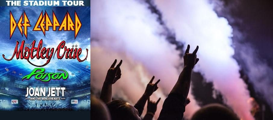 Motley Crue and Def Leppard with Poison at TIAA Bank Field