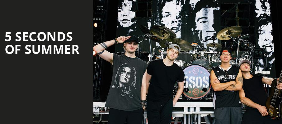 5 Seconds of Summer, Dailys Place Amphitheater, Jacksonville