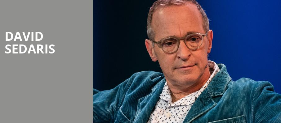 David Sedaris, Terry Theater, Jacksonville