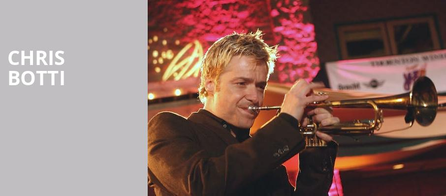 Chris Botti, Florida Theatre, Jacksonville