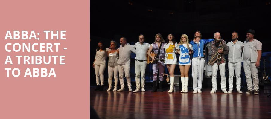 ABBA The Concert A Tribute To ABBA, Florida Theatre, Jacksonville
