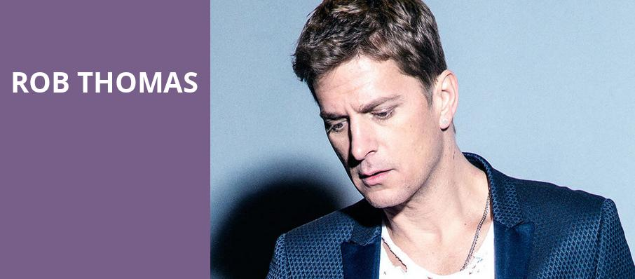 Rob Thomas, Dailys Place Amphitheater, Jacksonville
