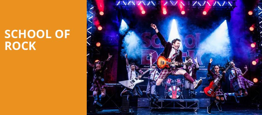 School of Rock, Moran Theater, Jacksonville