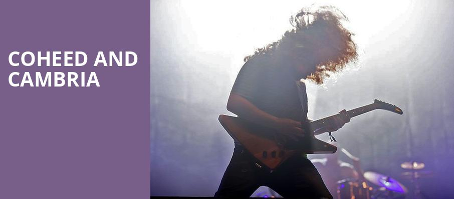 Coheed and Cambria, Dailys Place Amphitheater, Jacksonville