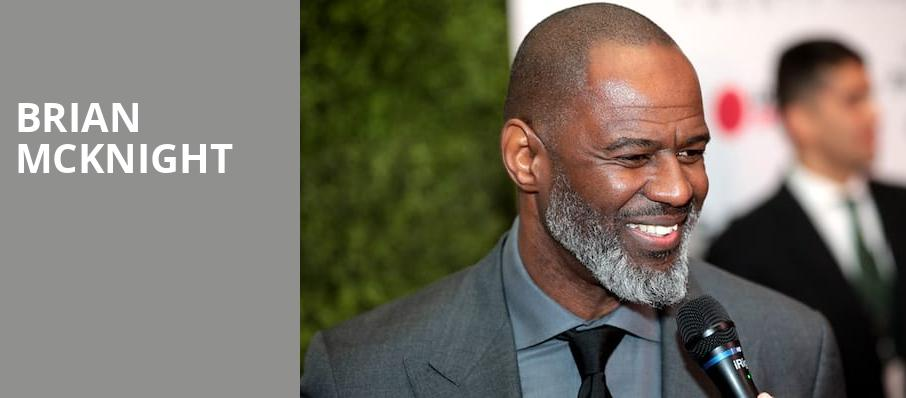 Brian McKnight, Florida Theatre, Jacksonville