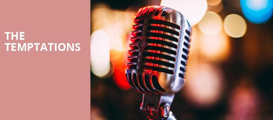 The Temptations, Florida Theatre, Jacksonville