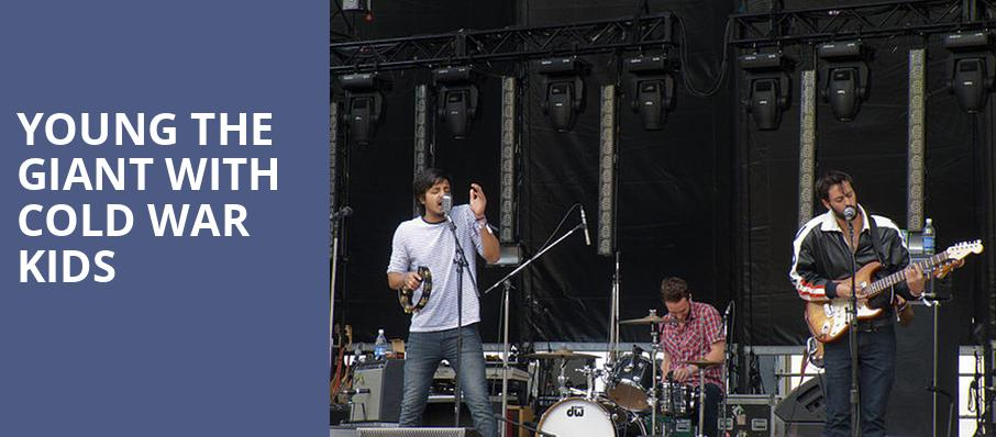 Young the Giant with Cold War Kids, Dailys Place Amphitheater, Jacksonville