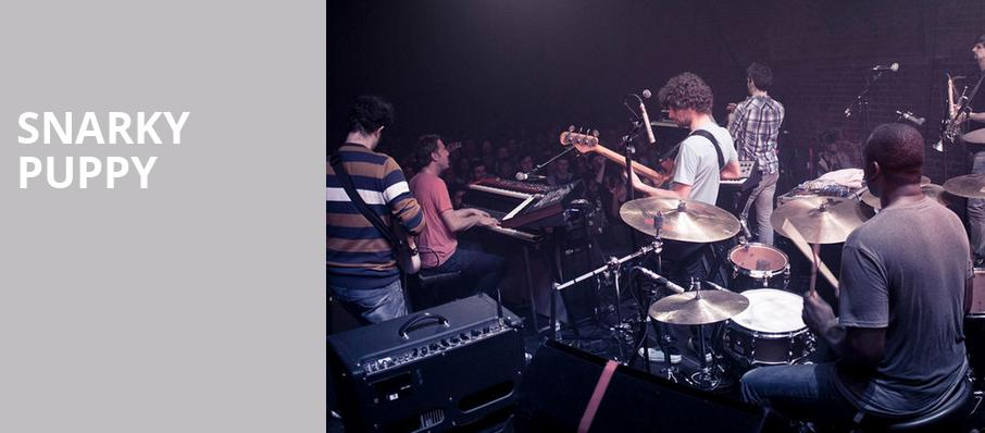 Snarky Puppy, Florida Theatre, Jacksonville