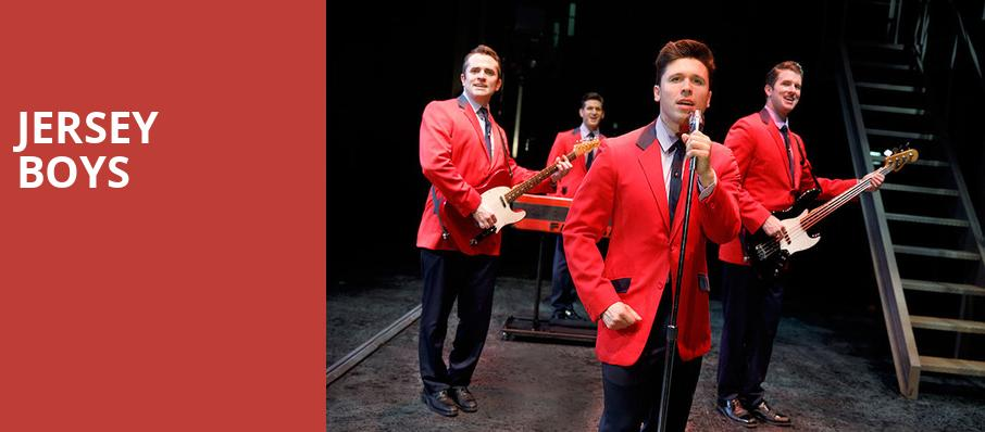 Jersey Boys, Thrasher Horne Center for the Arts, Jacksonville