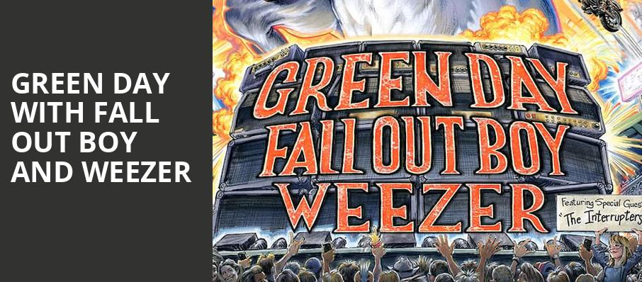 Green Day with Fall Out Boy and Weezer, TIAA Bank Field, Jacksonville