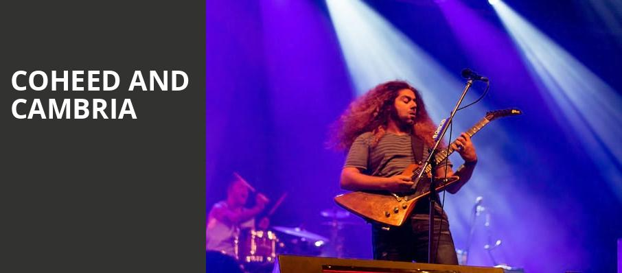 Coheed and Cambria, Florida Theatre, Jacksonville