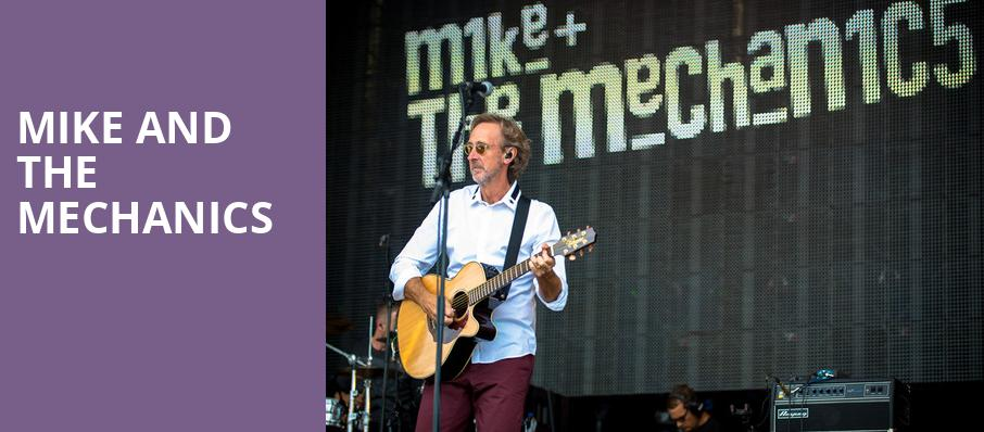 Mike and The Mechanics, Ponte Vedra Concert Hall, Jacksonville