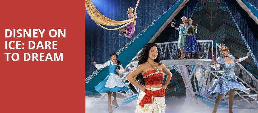 Disney On Ice Dare To Dream, Jacksonville Veterans Memorial Arena, Jacksonville