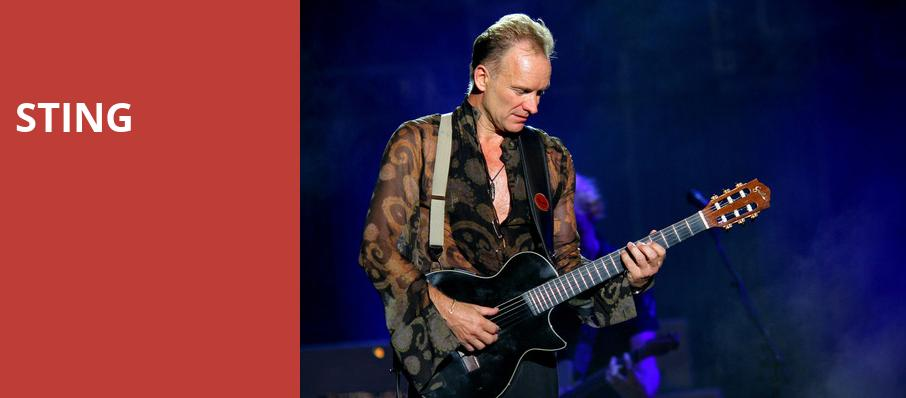 Sting, Dailys Place Amphitheater, Jacksonville