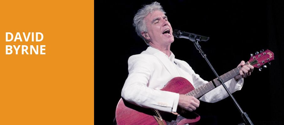 David Byrne, Florida Theatre, Jacksonville